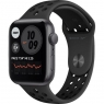 Apple Watch Nike SE GPS 44mm Space Gray Aluminum Case w. Anthracite/Black Nike Sport B. (MYYK2)