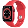 Apple Watch Series 6 GPS 40mm (PRODUCT)RED Aluminum Case w. (PRODUCT)RED Sport B. (M00A3)