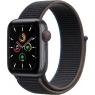 Apple Watch SE GPS + Cellular 40mm Space Gray Aluminum Case with Charcoal Sport L. (MYEE2/MYEL2)