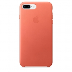 Apple iPhone 7 Plus Leather Case - Geranium (MQ5H2)