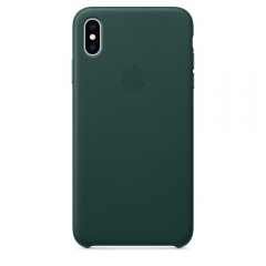 Apple iPhone XS Max Leather Case - Forest Green (MTEV2)