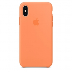 Apple iPhone XS Silicone Case - Papaya (MVF22)