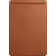 Apple Leather Sleeve for 10.5 iPad Pro - Saddle Brown (MPU12)