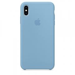 Apple iPhone XS Max Silicone Case - Cornflower (MW952)