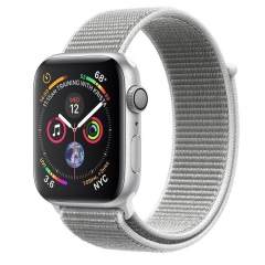Apple Watch Series 4 GPS 44mm Silver Alum. w. Seashell Sport l. Silver Alum. (MU6C2)