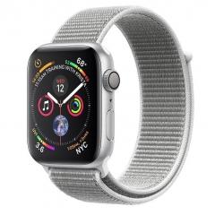 Apple Watch Series 4 GPS 44mm Silver Alum. w. Seashell Sport l. Silver Alum. (MU6C2)