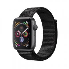 Apple Watch Series 4 GPS 44mm Gray Alum. w. Black Sport l. Gray Alum. (MU6E2)