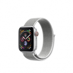 Apple Watch Series 4 GPS + LTE 40mm Silver Alum. w. Seashell Sport l. Silver Alum. (MTUF2)