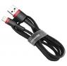 Baseus Kevlar Lightning Cable 1m Black+Red (CALKLF-B19)