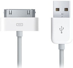 Apple USB 2.0 кабель Dock Connector (MA591)