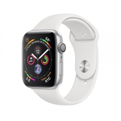 Apple Watch Series 4 GPS 44mm Silver Alum. w. White Sport b. Silver Alum. (MU6A2)