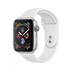 Apple Watch Series 4 GPS 44mm Silver Alum. w. White Sport b. Silver Alum. (MU6A2)