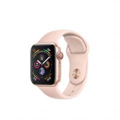 Apple Watch Series 4 GPS + LTE 40mm Gold Alum. w. Pink Sand Sport b. Gold Alum. (MTUJ2)