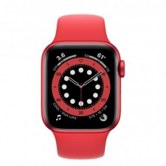Apple Watch Series 6 GPS + Cellular 40mm (PRODUCT)RED Aluminum Case w. (PRODUCT)RED Sport B. (M02T3/M06R3)