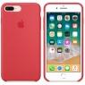 Apple iPhone 8 Plus / 7 Plus Silicone Case - Red Raspberry (MRFW2)