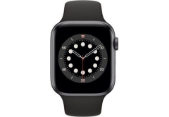 Apple Watch Series 6 GPS + Cellular 44mm Space Gray Aluminum Case w. Black Sport B. (M07H3/MG2E3)