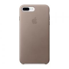 Apple iPhone 7 Plus Leather Case - Taupe (MPTC2)