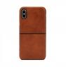 Чехол Incase for Apple iPhone X Leather Textured Snap Case Tan