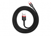 Baseus Kevlar Lightning Cable 1m Black+Red (CALKLF-B19)