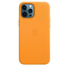 Apple iPhone 12 Pro Max Leather Case with MagSafe