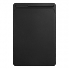 Apple Leather Sleeve for 10.5 iPad Pro - Black (MPU62)