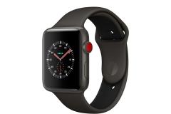 Apple Watch Edition Series 3 GPS + Cellular 42mm Gray Ceramic w. Gray/Black Sport B. (MQKE2)