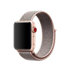 Apple Watch Series 3 (GPS + Cellular) 42mm Gold Aluminum w. Pink Sand Sport L. (MQK72)