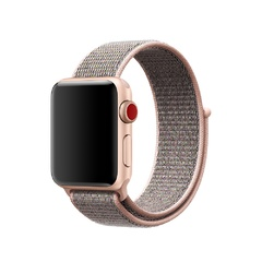 Apple Watch Series 3 (GPS + Cellular) 42mm Gold Aluminum w. Pink Sand Sport L. (MQK72)