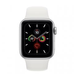 Apple Watch 5 44mm Silver/White (MWVD2)