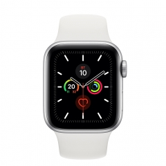 Apple Watch 5 44mm Silver/White (MWVD2)