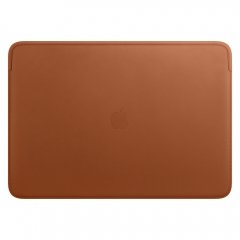"""Apple Leather Sleeve for 16"""" MacBook Pro - Saddle Brown (MWV92)"""