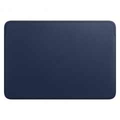 """Apple Leather Sleeve for 16"""" MacBook Pro - Midnight Blue (MWVC2)"""