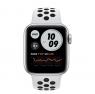 Apple Watch Nike Series 6 GPS 44mm Silver Aluminum Case w. Pure Platinum/Black Nike Sport B. (MG293)