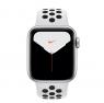 Apple Watch Nike Series 5 GPS 40mm Silver Aluminum w. Silver Aluminum (MX3R2)