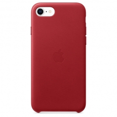 Apple iPhone SE Leather Case - PRODUCT RED (MXYL2)