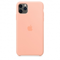 Apple iPhone 11 Pro Max Silicone Case - Grapefruit (MY1H2)