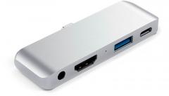 Satechi Aluminum Type-C Mobile Pro Hub Silver (ST-TCMPHS)