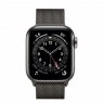Apple Watch Series 6 GPS + Cellular 40mm Graphite Stainless Steel Case w. Graphite Milanese L. (MG2U3/M06Y3)